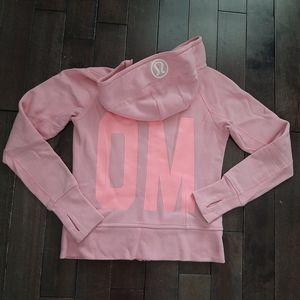 Lululemon Scuba Hoodie Stretch Om Pink Shell 6